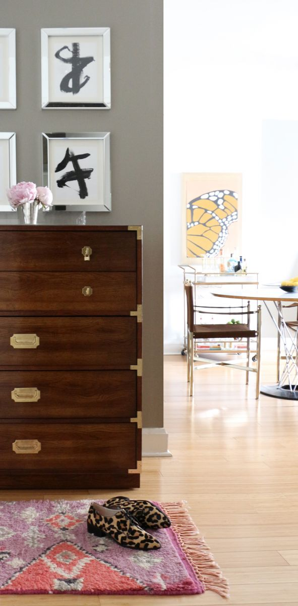 The Everygirl Victoria Solomon NYC Apartment Tour Chest