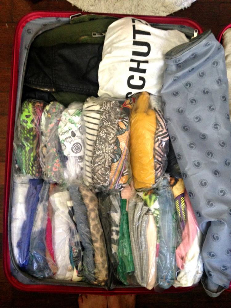 como arrumar mala para viagem