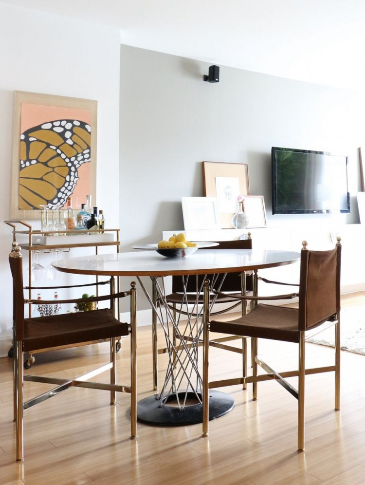 The Everygirl Victoria Solomon NYC Apartment Tour Dining Room