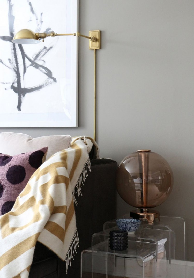 The Everygirl Victoria Solomon NYC Apartment Tour Side Table
