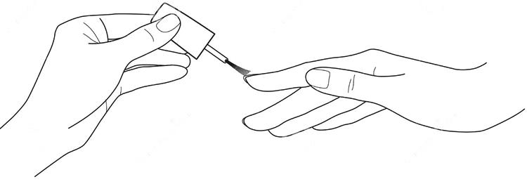 tratamento-de-mãos-as-mãos-das-mulheres-grupo-do-vetor-do-verniz-para-as-unhas-51451520