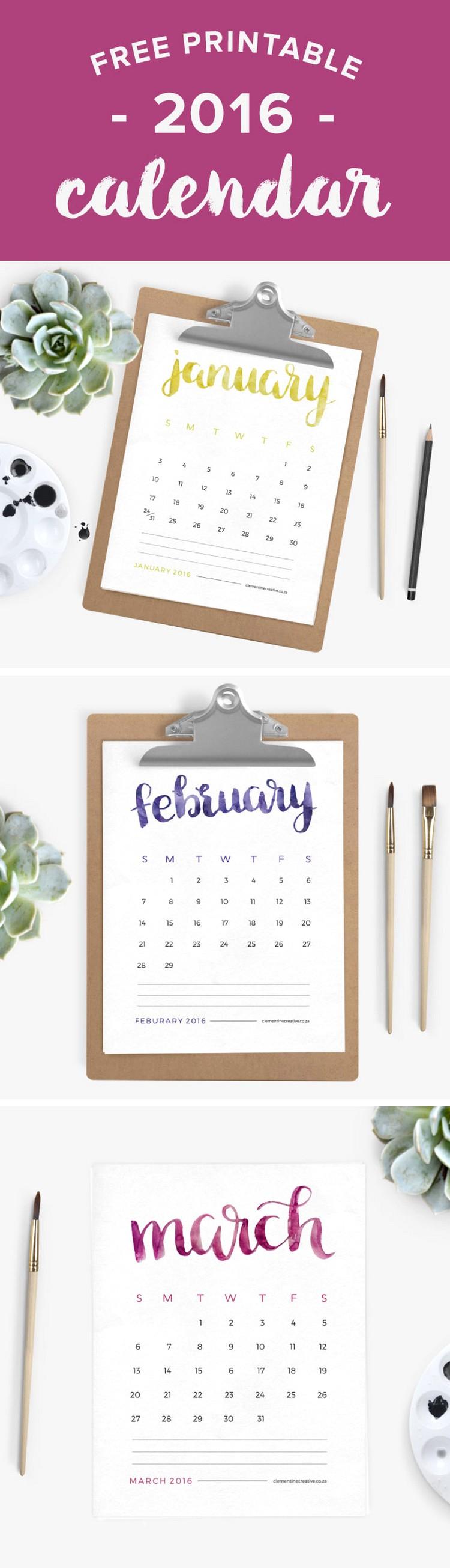 free-printable-2016-calendar-brush-lettering (1)