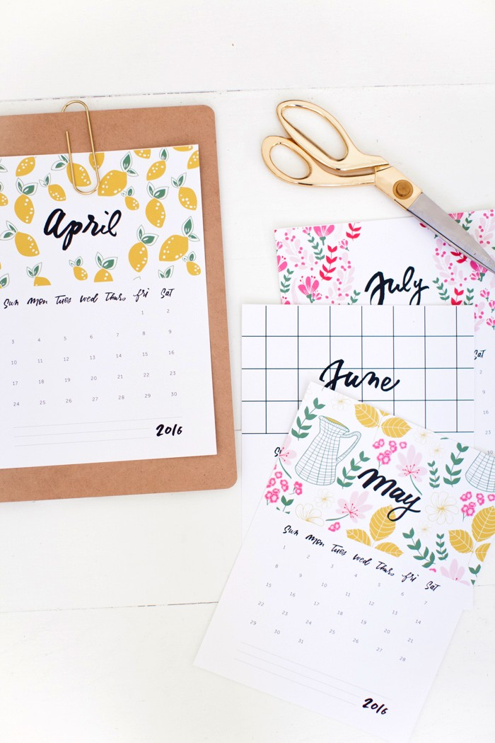 calendario-2016-imprimir-cute-printerest-calendar