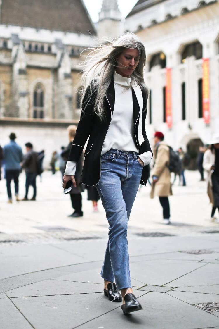 Clochet_streetstyle_londonfashionweek_sarahjarris_levis501vintage_pyjamasjacket-2